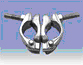 Поворотный хомут кованый Swivel Coupler 48 x 48